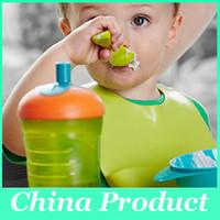venda por atacado baby wholesale-Atacado babados de bebê de silicone Alimentação infantil Baby Kid Bib Baby Silicone Criança Lavável Bib Fun Personagens cores Mix Waterproof 010269
