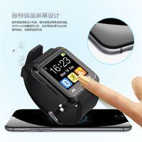 Lx36 smartwatch Prix-En stock U8 Bluetooth Smart Watch synchroniser la carte SIM Smartwatch pour iPhone 6 Plus Samsung S6 Note 5 HTC Android IOS téléphone VS DZ09 GV18 LX36