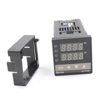 Wholesale New C100 Series Digital Temperature Contoller REX C100FK02 M AN B REX C100FK02 V AN B PID Electronics Temperature Thermost for