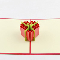 Wholesale 20 pieces Lovely Gift Box Greeting Card Your Best Wishes Wholesaler Support Mixed Branch Business Creative Postcard