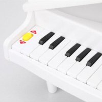 Wholesale White Electronic Symphonic Mini Piano Infant Playing Type Educational Musical Instrument Toys Gift For Kids