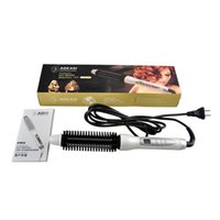 Wholesale AOKASI Hot Brush Professional Hair Curler Hair Styling Tools New Arrival Hair Curler Electric Comb PTC Heating