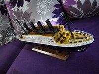 Mavigation modelo del kit del sistema del modelo de cruceros de lujo kit modelo de barco Titanic establecido modelo de barco de la nave