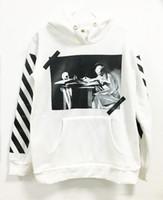 Wholesale Off White C O Virgil Abloh Pyrex Vision S S religion Sweatshirts hoodie pullover clothing hip hop brand men women sweatshirt