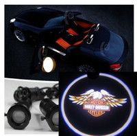 lamp kits - 2G motorcycle Weclome Light LED Door Lamp Ghost Shadow Laser Logo
