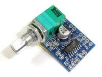 Wholesale Mini Amplifier Board PAM8403 Digital Amplifier Audio Power Amplifier Dual Channel W W stereo Amplifier DC5V USB Support Power
