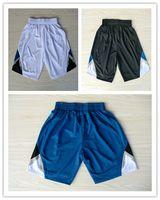 basketball minnesota - Men Basketball Shorts Minnesota Ricky Rubio Kevin Love White Blue Black New REV Brand Shorts