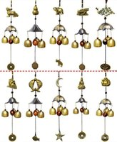 Wholesale Copper wind chimes antirust bell outdoor decorations birthday gifts to friends and best wishes home decoration