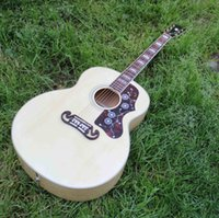 Wholesale new arrival J200 acoustic guitar Custom J200 electric acoustic guitar inch jumbo guitar