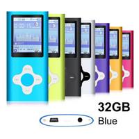 audio video games - Mini Usb Port Slim LCD MP3 MP4 GB Portable MP3Player MP4 Player Video Player Music Player Media Player Audio Player