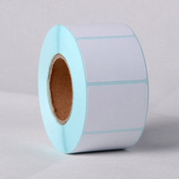 Single-Sided bar code paper - 2 Rolls New x30mm Printing Label Bar Code Number Thermal Adhesive Paper Stickers High Quality For Business Supermarket