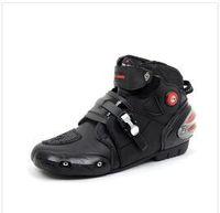 Wholesale Pro biker boots motorcycle racing boots men motocross riding boots size black