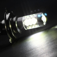 Wholesale H4 White CREE Chips LED Fog Light Bulb High Low Beam Headlight Safety Lamp EA10513
