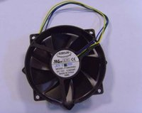 ball bearing mounting - Circular Cooling fan of EVERLOW F129025SU with V A Wires Mounting hole