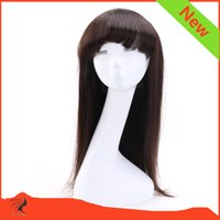 Wholesale 8A Straight Brazilian Human Hair Wigs Remy Hair Full Lace Wig For Black Women Wig Lace Front Wig With Baby Hair