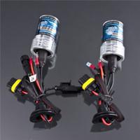achat en gros de xénon ampoules de conversion-Ampoules Xenon HID Kit de conversion de la lampe 35W H1 H3 H7 H8 H9 H11 H10 9004 9005 HB3 9006 HB4 9007 880 881 4300K 6000K 8000K 10000K 12000K