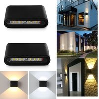 Wholesale Hot New W Modern LED Up Down Wall Light Porch Hall Lamp Sconce Walkway Ceiling Lighting B503