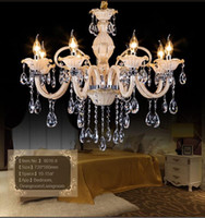 arm chandelier - 2016 Modern Chandelier Lustre Crystal Chandeliers Arms Optional Lustres De Cristal Chandelier LED Without Lampshade