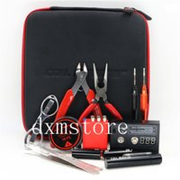 Wholesale new moneycoil master v2 kit DIY tool bag coil winder Coil Master Tool Kit Electronic Cigarettes tool Bags kits
