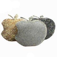 Wholesale Evening clutch bag Evening Bags hand bag clutches women wallets handbags Chain shoulder bags purse female diamond