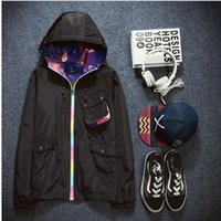 animal ski jackets - Spring Jacket Women Hooded Plus Size male Women Hip hop popular logo Clothing Chaquetas Mujer Long Oversize Jackets Coat Ski wear Outwear