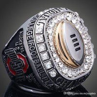 alloy replicas - STR0 NCAA Ohio State Buckeyes sale replica championship rings fashion men jewelry New Sport