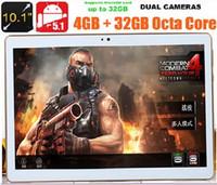 10.1 pulgadas de la tableta de la tableta del núcleo de Octa Tabletas de la ROM 32GB 5.0MP Bluetooth GPS de la RAM 4GB de la PC de la tableta de 4 G Tabletas 7 9 10 DHL Free