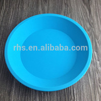 Wholesale 100 food grade silicone tray kitchen bakeware baking dishes pans Non stick and easy clean DHL free S
