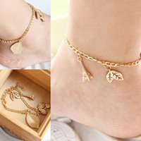 Wholesale Bride Anklet Barefoot Sandals Wedding Beach Dancing Party Accessories Well Designed gift for the Valentine s Day
