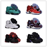 basketball door - New arrival fashion xiii men infrared LBJ XIII basketball shoes door to door best service size