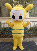 big lips costume - Graceful Yellow Rabbit Hare Bunny Mascot Costume Cartoon Character Mascotte Adult Long Ears Red Lips Big Eyes ZZ1574 Free Ship