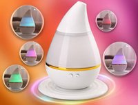 Wholesale Hot sell Colorful drops mini USB Portable Aroma Air Humidifier Atomizer Air Purifier