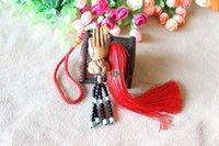 bergamot buckle - Light peach Folian key buckle Fuhui Bergamot lotus ox mascot Ci Fushou