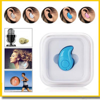 apple boxes - Hot Mini Bluetooth S530 Earphone Stereo in ear Light Wireless Invisible Headphones handfree Headset Music answer call retail box