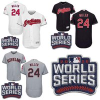 andrew white - Men s Cleveland Indians Andrew Miller White Nave Blue Grey World Series Patch Jersey Flexbase MLB Cool Base stitched Jerseys