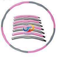 Wholesale Removable foam massage hula hoop ring thin waist slimming soft fitness tool