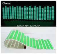 activated carbon sheets - 90 cm Colour Music Rhythm EQ Car Sticker Music Equalizer on Car Windshield LED Sound Music Activated EL Sheet Glue Stickers