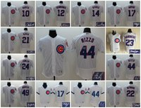 Wholesale Elite Chicago Cubs Anthony Rizzo Kris Bryant Sosa Jason Heyward Ryne Sandberg Jake Arrieta Custom Jersey Signed