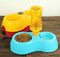 Wholesale Pet Bowl Plastic Pet Supplies cat bowl Dog Bowls Automatic Feeders cats bowl DHL