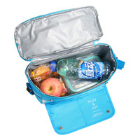 Wholesale 2016 hot Large vehicle Thermal insulation bag Foil Cooler Ice Breast Bags Waterproof Insulation Lunch Bags Seat suspension IPad stent