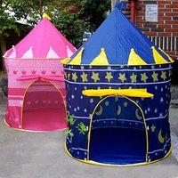 Cheap Wholesale-Children Kid Indoor Outdoor Garden Pop-Up Princess Castle Play-Tent Play-House