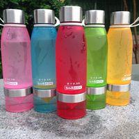 bicycle for health - Health Lemon Bottle Juice Plastic Cup Fruit Bottle for water tea Infuser drinking bottles Sport Bike Portable water Tumbler