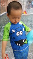 baby uv suits - Baby clothes kids surf clothing BABY boys sun protection swimsuit uv protection two pieces beach suit boys swimwea