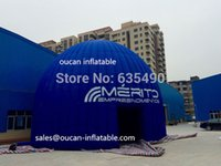 Wholesale 12m diameter oxford cloth inflatable dome tent for event party with freeshipping by DHL