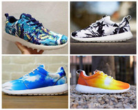 beach spikes - New arrival Roshe Run Women And Mens Running Shoes Fashion Athletic Casual Sports Shoes Hemp Palm Boys Mesh Free Run Shoe Lovers beach