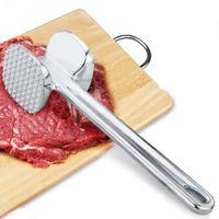 Wholesale Aluminium Metal Meat Mallet Tenderizer Chicken Beef Steak Hammer Kitchen Tool