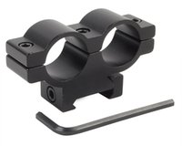 Wholesale Airsoft Tactical Military Heavy Duty Dual mm Ring mm Rail Weaver Scope Mount Picatinny Base Hunting Rifle Rail Accessory
