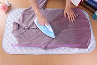 Wholesale 50pcs Home Iron Anywhere Dryer Clothing Ironing Mat Pad Board Travel Magnetic Resistant Free DHL FEDEX Shipping