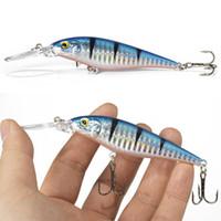 Wholesale 1 m g Hard Bait Minnow Fishing lures Crankbait Wobbler Depth Dive Bass Fresh Salt water