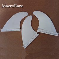 Wholesale hot sell plastic surfboard fins white G5 future fins surf fins
